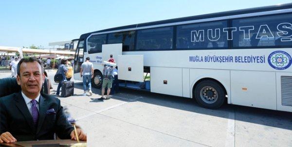 Havalimanından Milas'a otobüs seferleri başlıyor