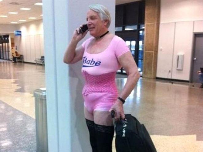 Havalimanlarından tuhaf insanlar