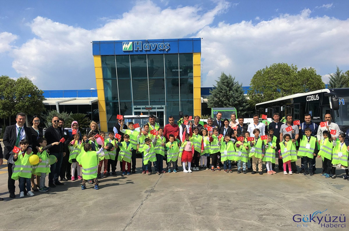 Havaş 23 Nisan'ı çalışanlarının çocuklarıyla kutladı
