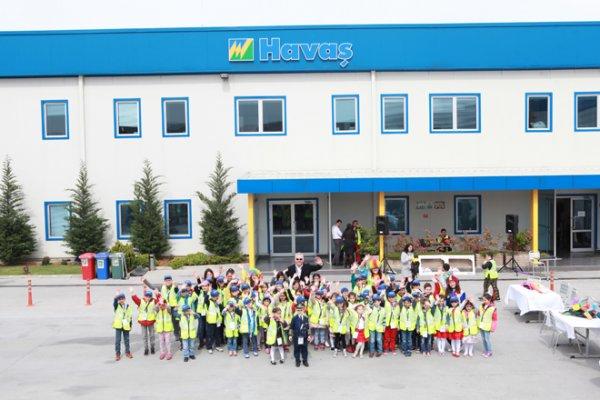 Havaş Çalışanlarının Çocukları 23 Nisan'ı Apronda Kutladı