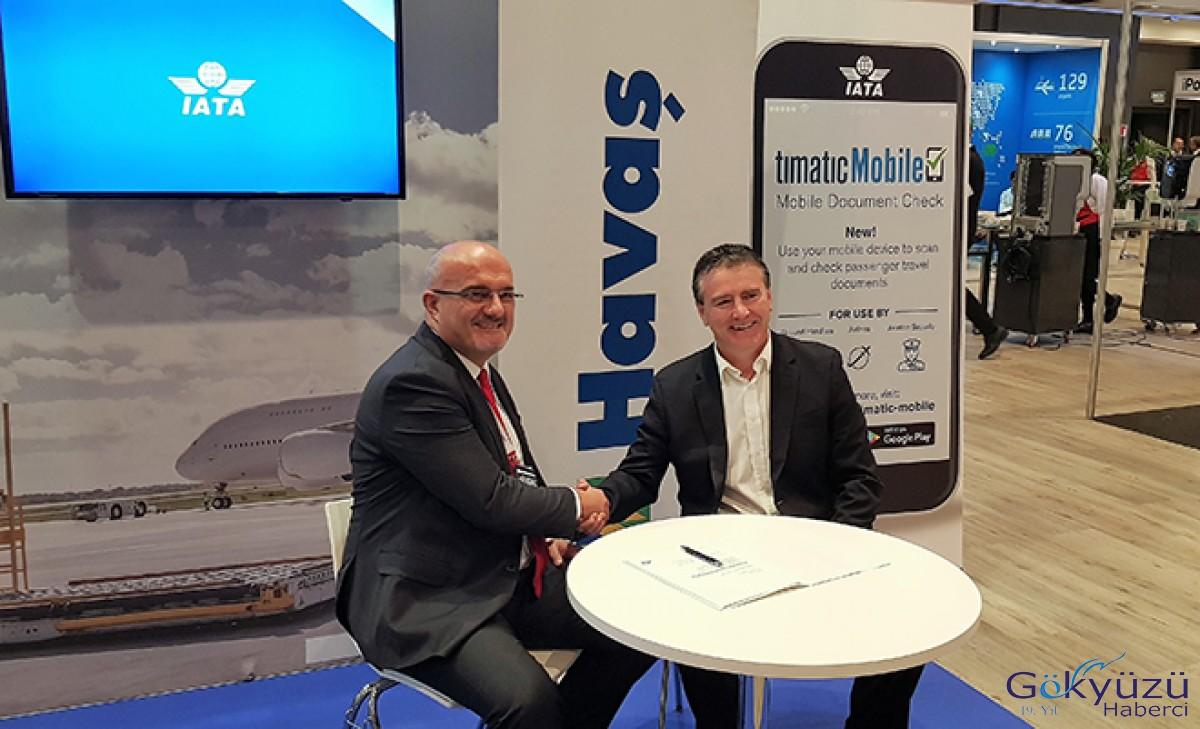 Havaş, Timatic Mobil uygulaması için IATA ile el sıkıştı