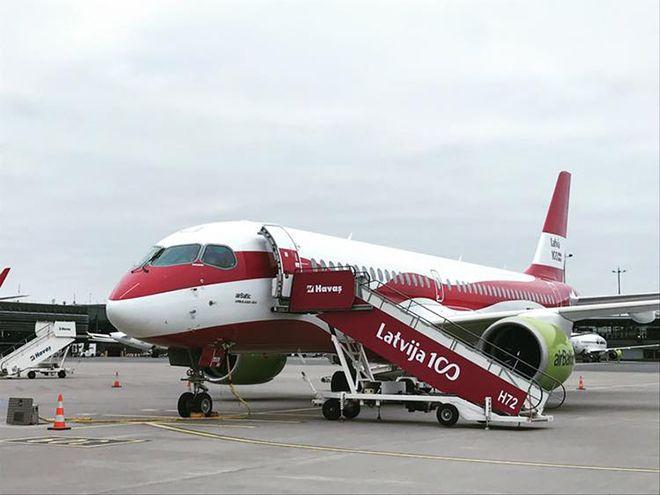 Havaş'tan airBaltic'e 100. yıl sürprizi!