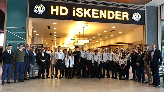 HD İskender, İstMarina AVM'de Açıldı