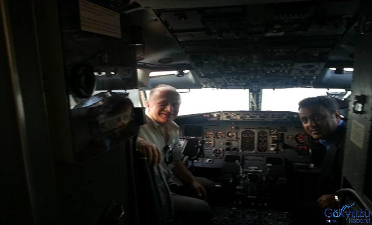 Hemen pilota idam!Bilen bilmeyen konuşuyor