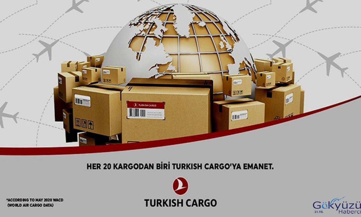 Her 20 hava kargodan 1'i Turkish Cargo'ya emanet