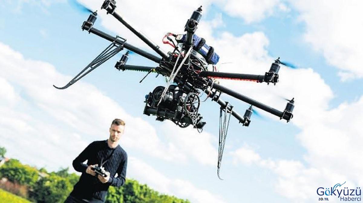 Her yerde drone var!