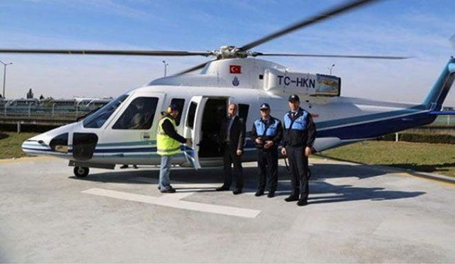 İBB'nin Sikorsky helikopteri satılıyor