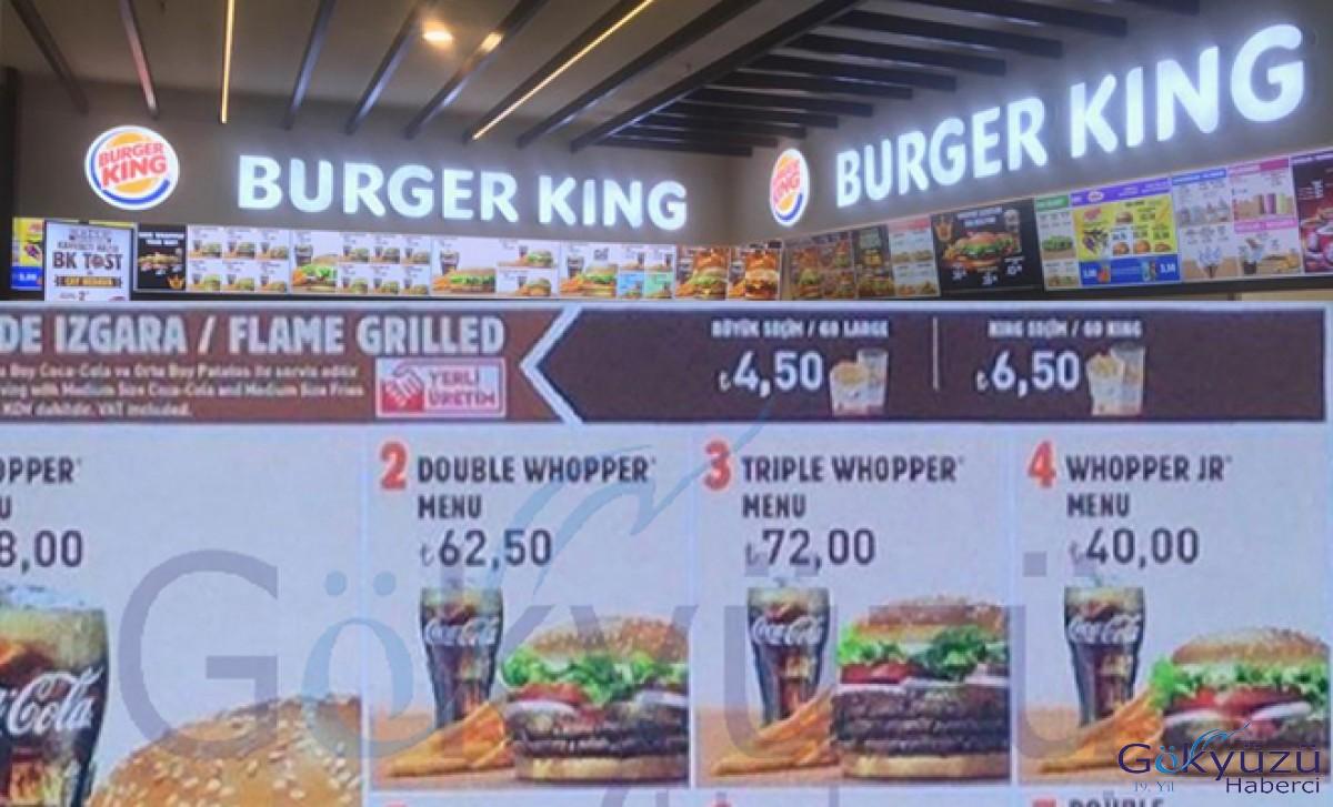 Burger King® İstanbul Havalimanı'nda