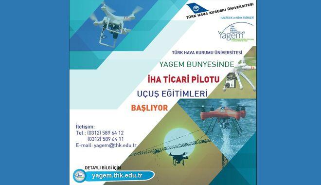 İnsansız Hava Aracı Uçuş Eğitimleri Başlıyor