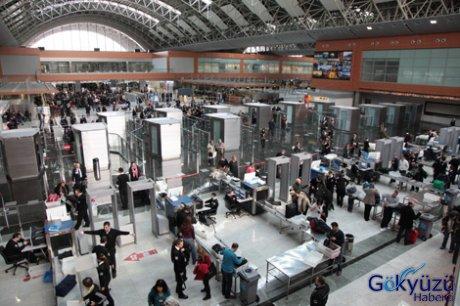 Isg bayram dönüşü uçak ve yolcu rekoru kırdı