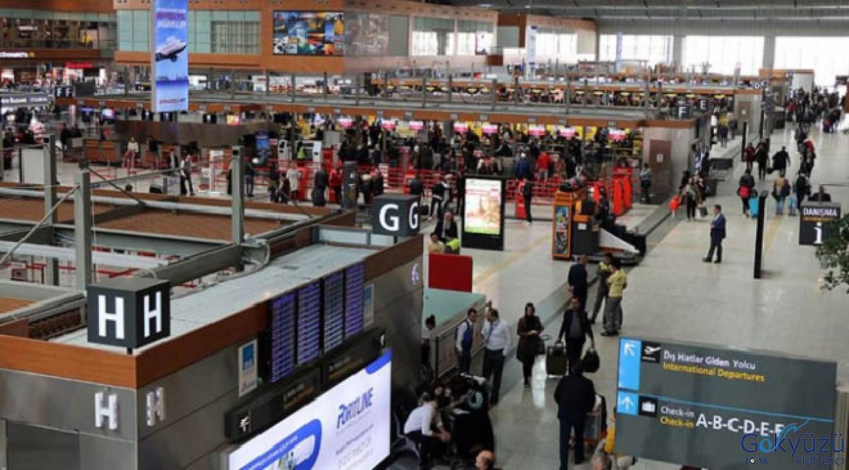 İSG'de yolcu sayısı arttı