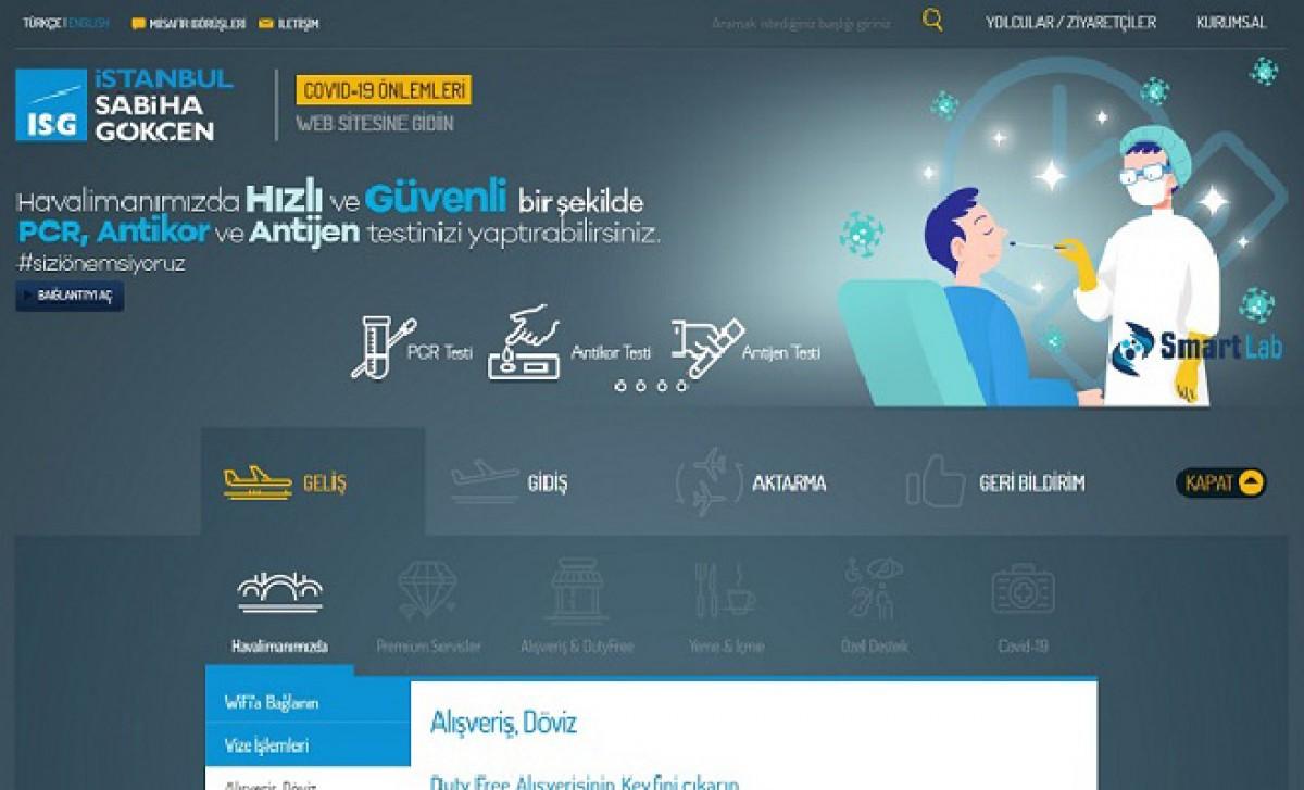 İSG,web sitesinin ana sayfası yenilendi