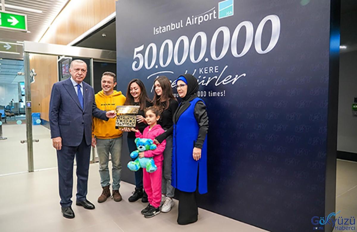 Istanbul Flughafen, Passagiere erreicht 50 Millionen