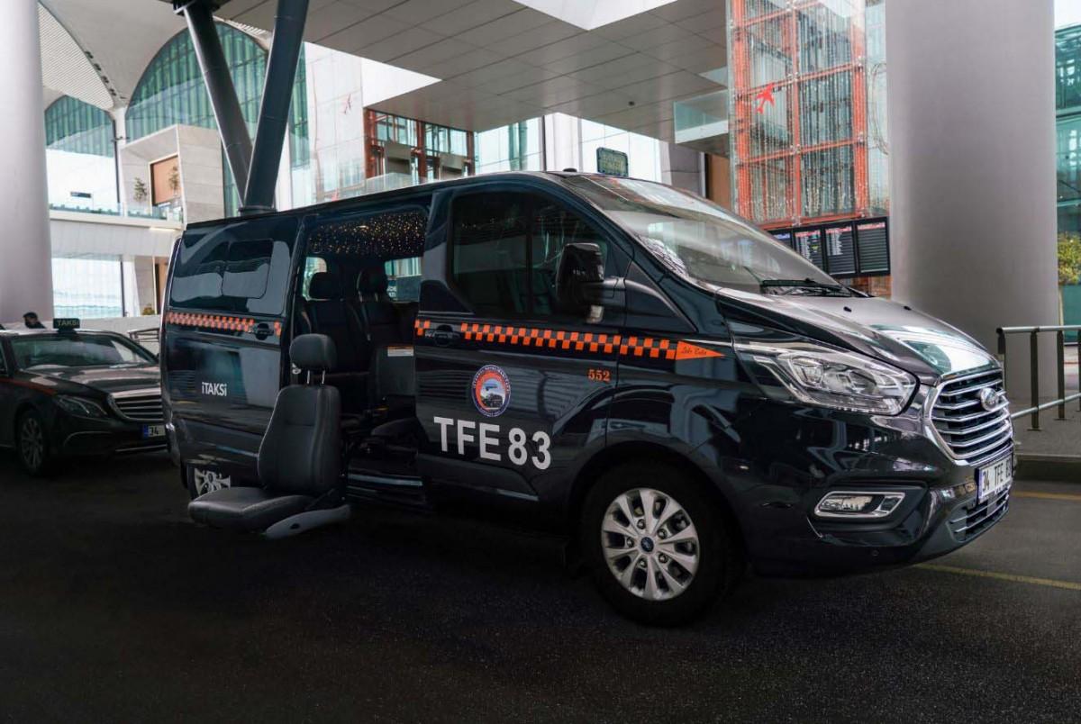 İstanbul Havalimanı'nda 'Erişilebilir Taksi' hizmette