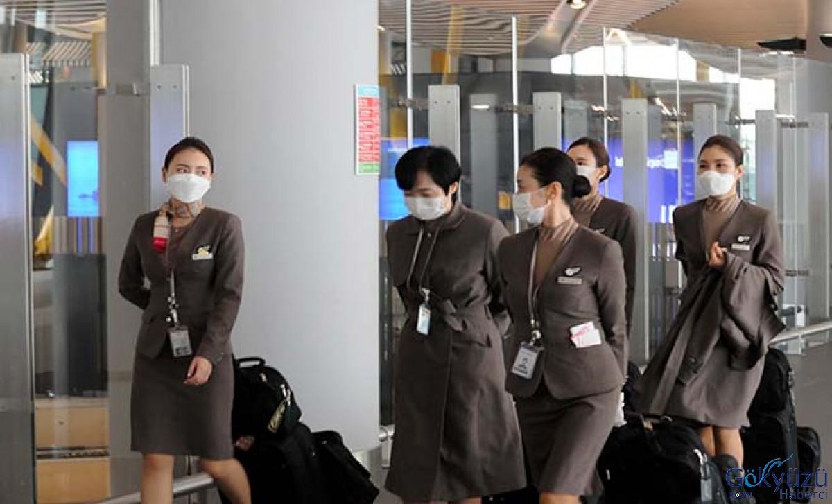 İstanbul Havalimanı'nda Hostesler termal kamerada incelendi
