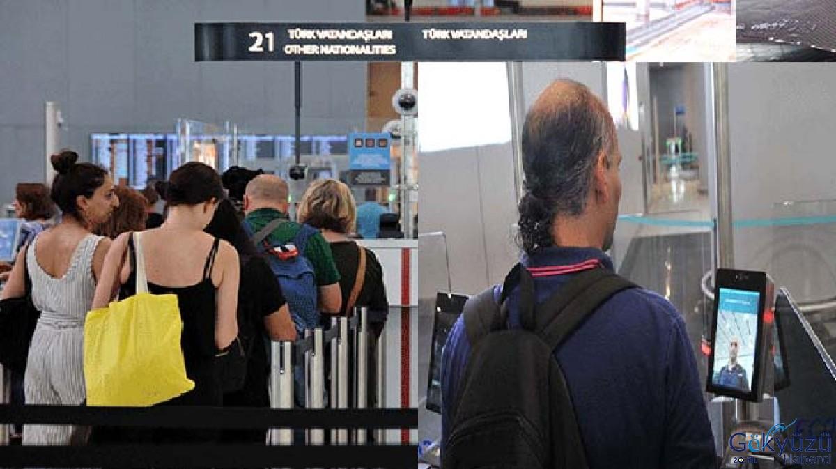 İstanbul Havalimanı'nda pasaport işlemi 18 saniye!