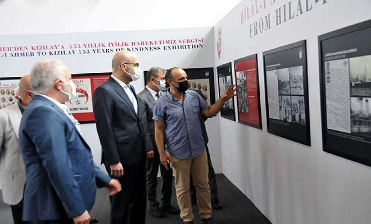 İstanbul Havalimanı'nda Türk Kızılay'ı sergisi