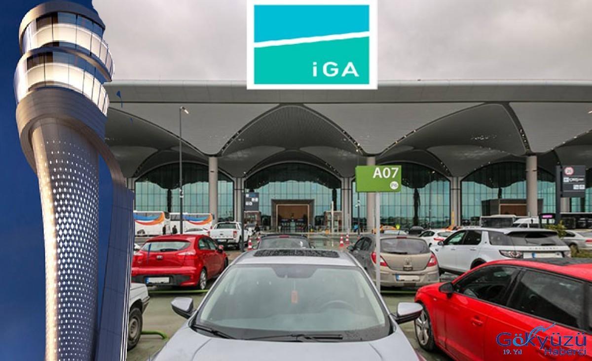 İstanbul Havalimanı'nda ücretsiz otopark süresi bitti