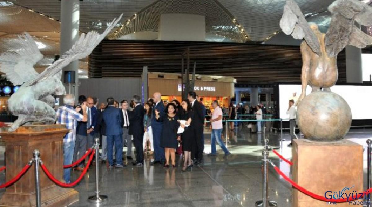 İstanbul Havalimanı'nda 'Varlığın Yeniden İnşası' sergisi