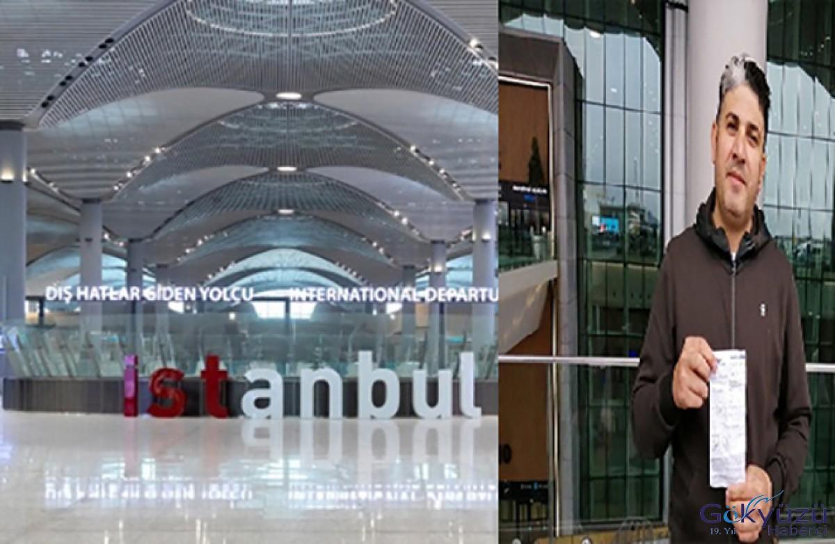 İstanbul Havalimanı'ndan Aksaray'a 1200 lira ücret ödedi!