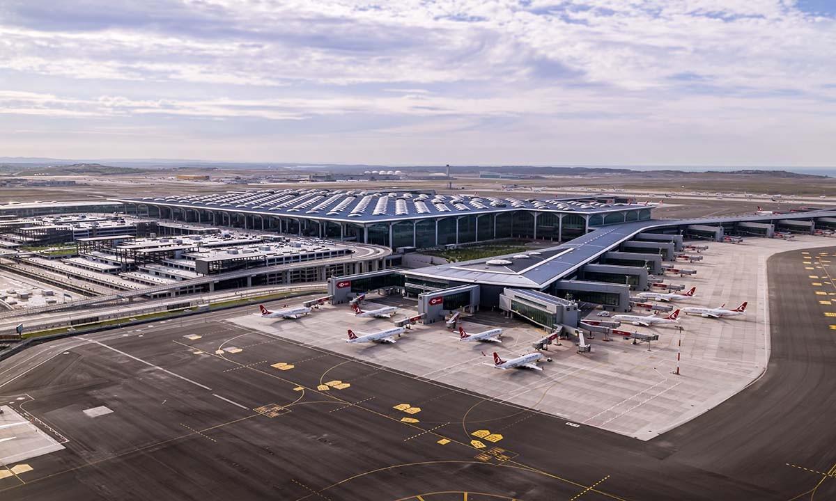 İstanbul Havalimanı'ndan