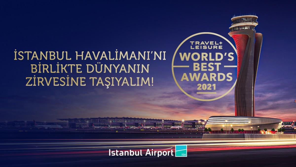 İstanbul Havalimanı'nı birlikte Dünyanın zirvesine taşıyalım