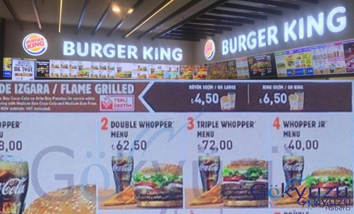 İstanbul Havalimanı'nda Burger King®, Sbarro®markaları