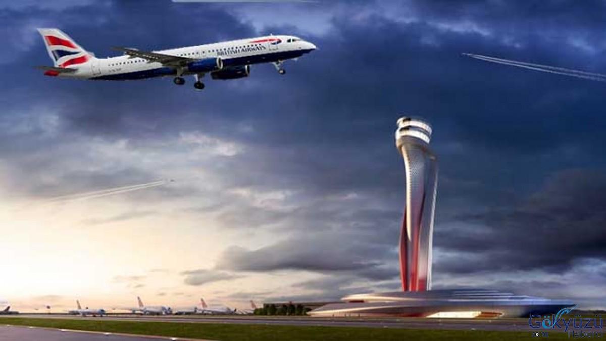 İstanbul Havalimanı'ndan kalkışta yıldırım isabet etti!