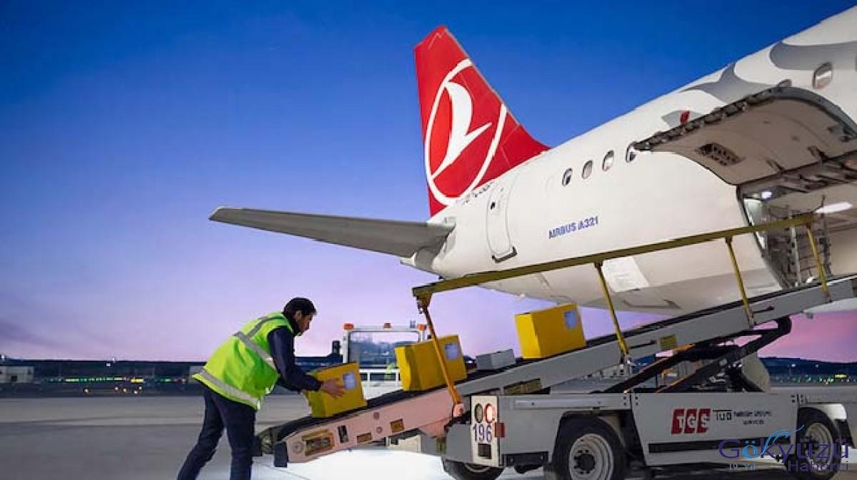 İstanbul Havalimanı'ndan Türk bayrağı taşındı!
