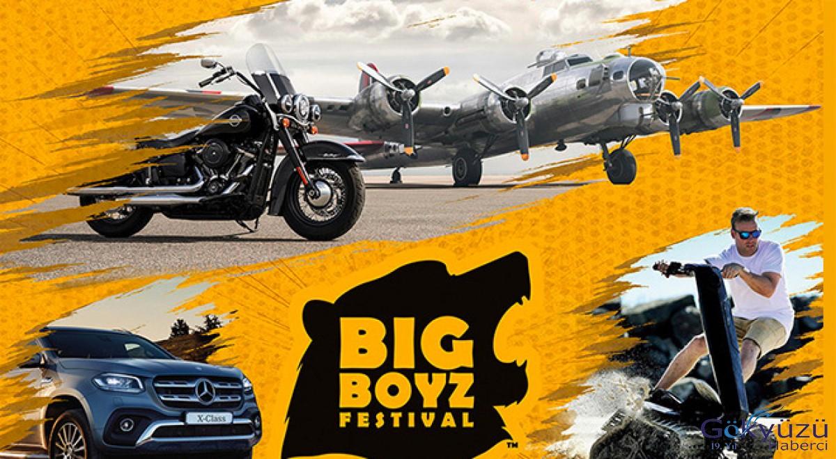 Big Boyz Festival'i büyüklere oyuncaklar!