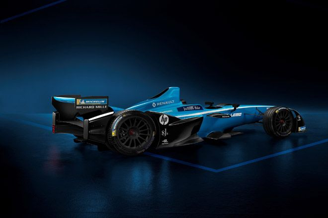 işte Şampiyon Renault e.dams'in Yeni Sezon Otomobili