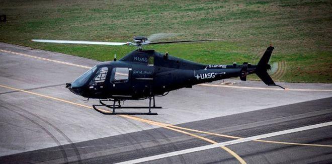 İtalyan helikopter insansız havalandı!