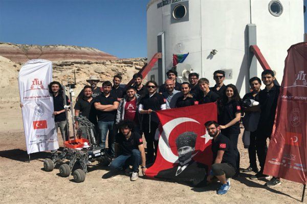 İTÜ'lü Dahiler Mars İçin Araç Tasarladılar