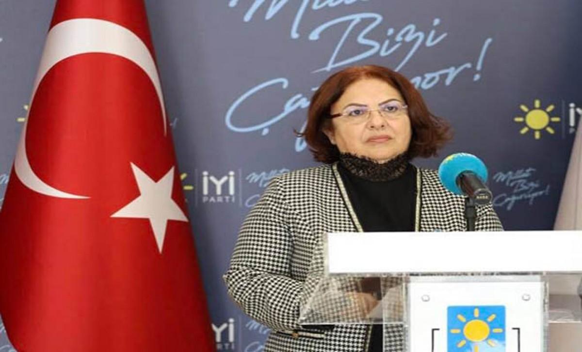 İYİ Parti Genel Başkan Yardımcısı Ünzile Yüksel