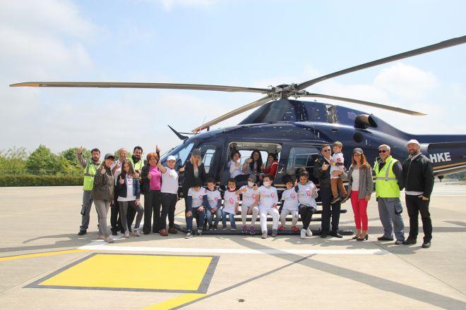 KAAN AIR, LÖSEV'li çocuklara İstanbul semalarını hediye etti