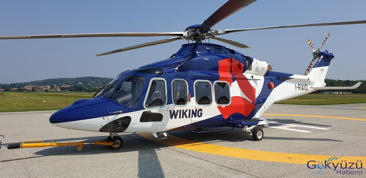 Kaan Air'ın iştiraki Wiking Helikopter filosuna 2 helikopter daha kattı