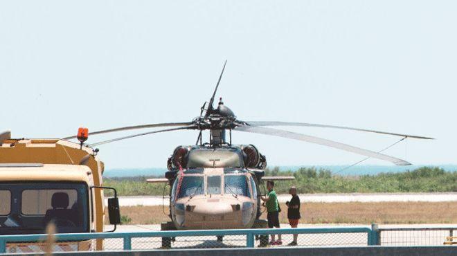 Kaçtıkları helikopteri talan etmişler