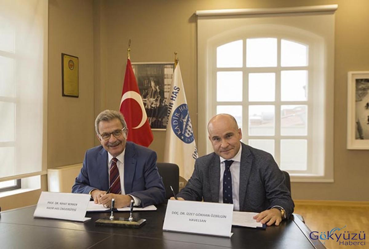Kadir Has Üniversitesi ile HAVELSAN anlaşması imzalandı