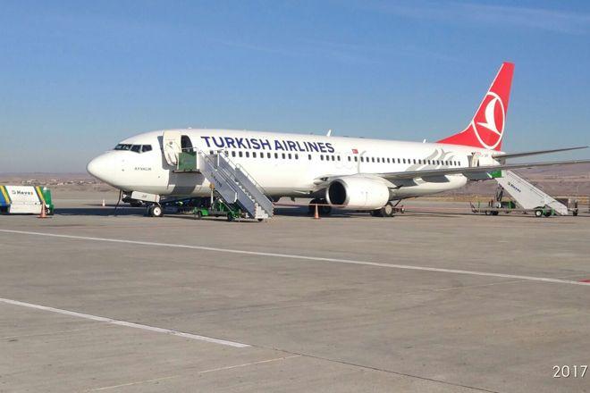 Kapadokya Havalimanı'na İlk Uçak İndi