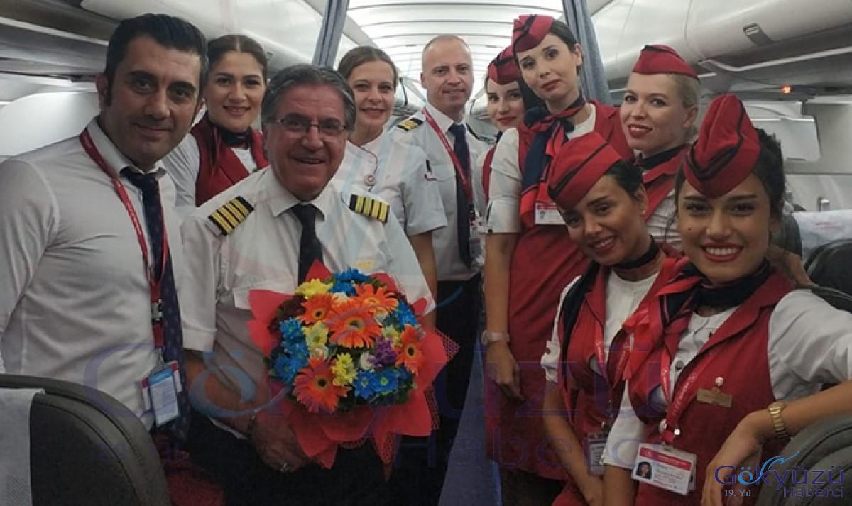 Kaptan pilot Kallenci,Aktif uçuş hayatına veda etti