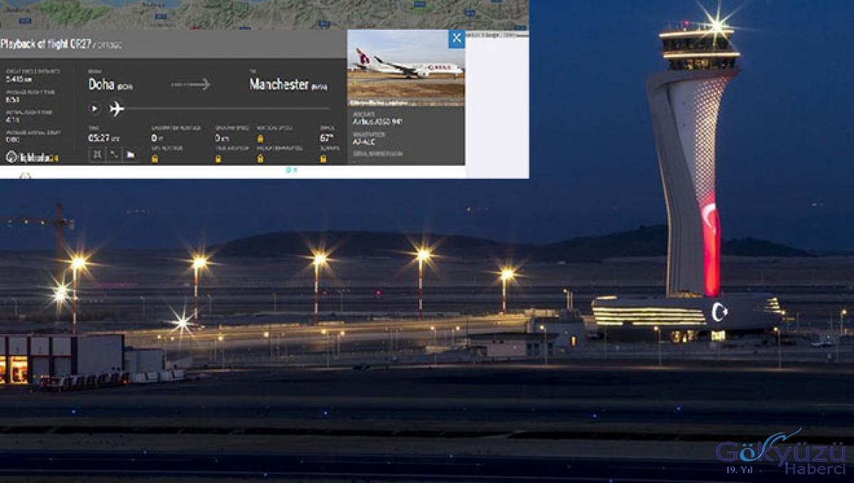 Katar uçağı İstanbul Havalimanı'na acil iniş yaptı!