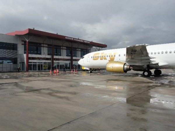 Kayseri Havalimanında 169 Bin 877 Yolcu Havalandı