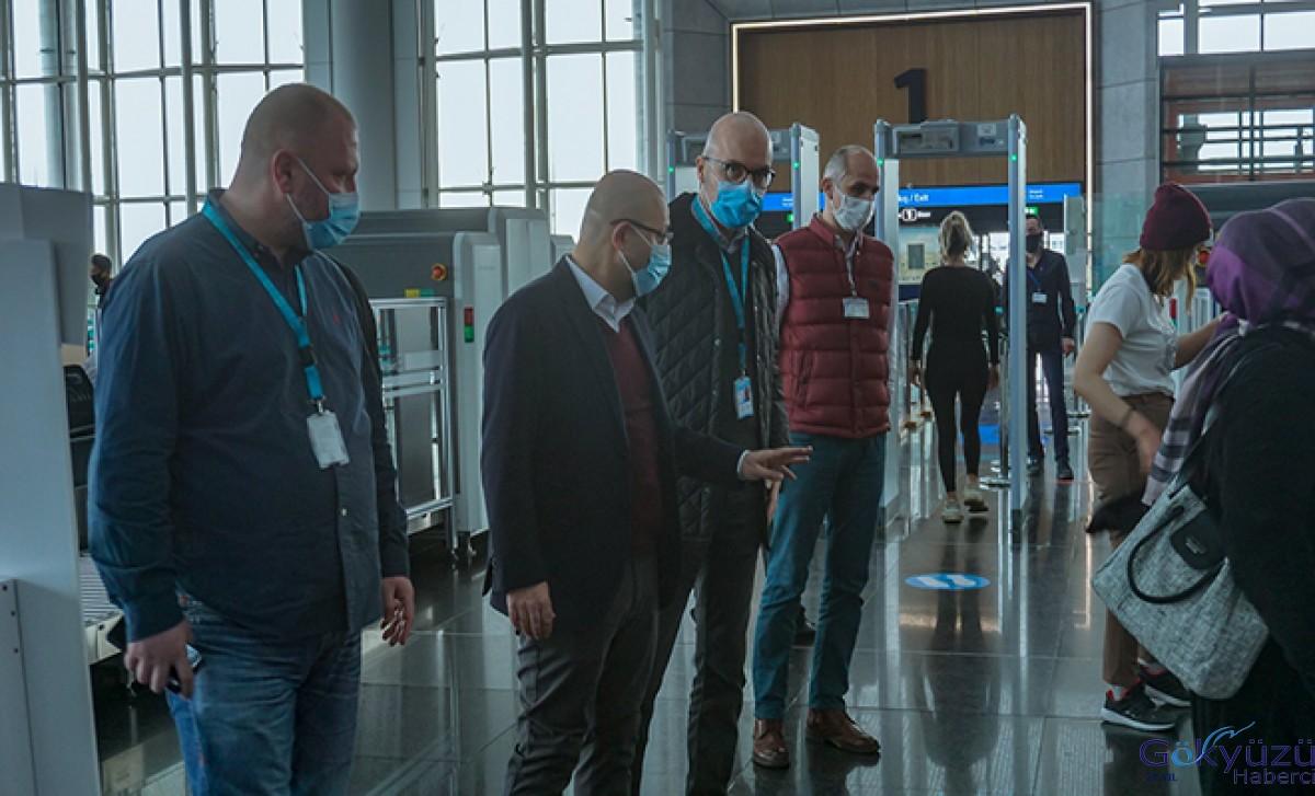 Keskin,İstanbul Havalimanı'nda inceme yaptı