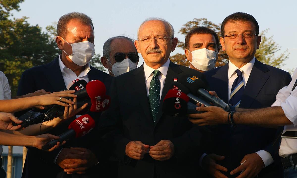Kılıçdaroğlu: THK'nın bir an önce ayağa kalkmasını istiyoruz