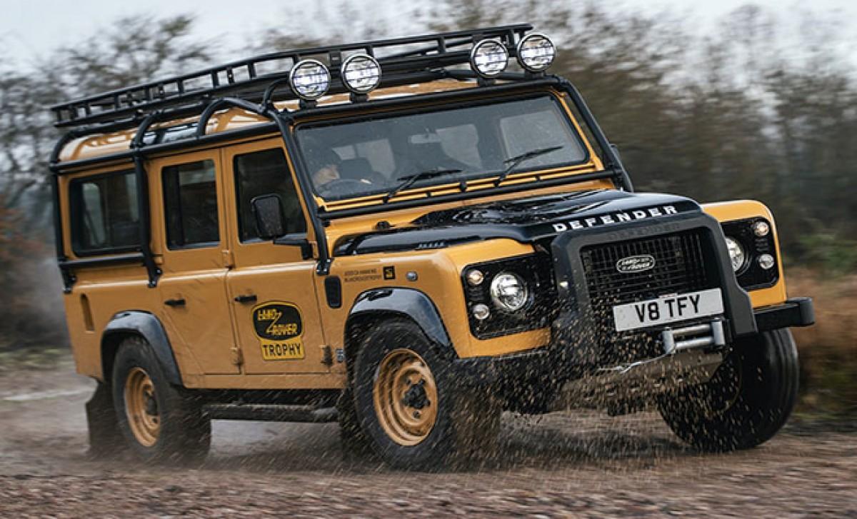 Klasik Land Rover Defender,Goodyear ile yeniden