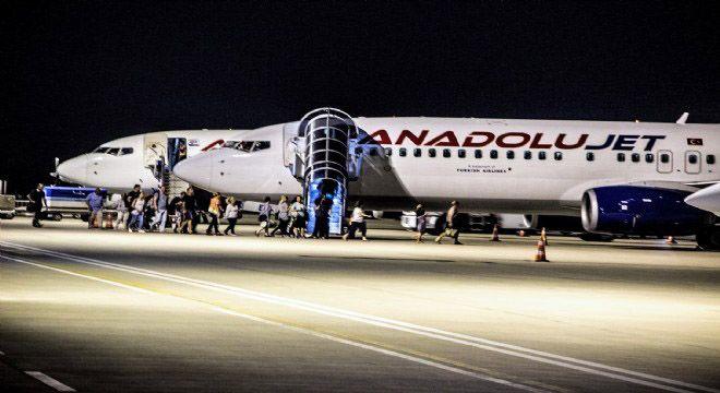 Koca Seyit Havaalanı grafiği yükseliyor