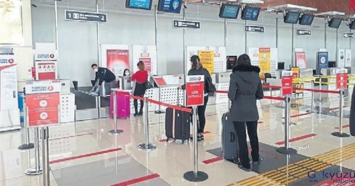 Koca Seyit Havaalını yeniden uçuşlara açıldı