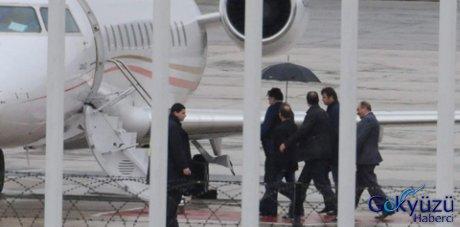Kolu kırılan Saakaşvili Ankara'ya gitti