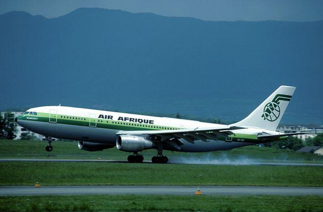 Libya uçağı inişte büyük tehlike atlattı!