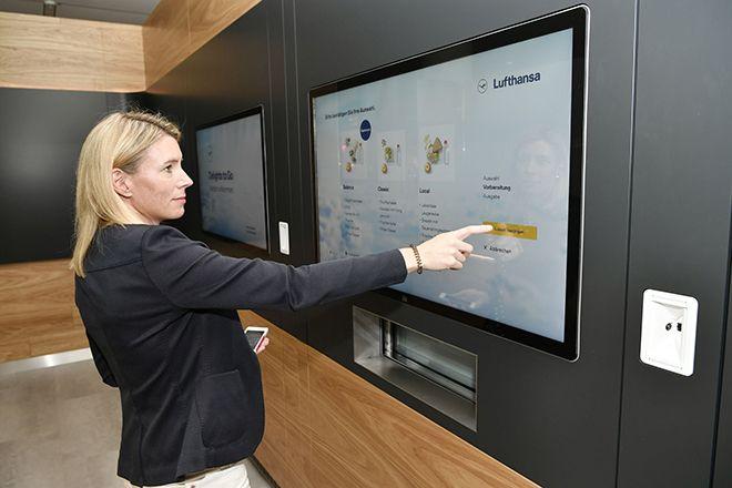 Lufthansa'dan acelesi olan yolculara 'hızlı ikram'
